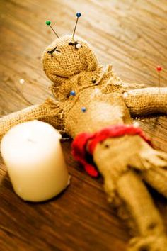 Many people associate Vodou with the ubiquitous voodoo doll.