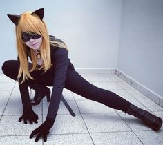 My genderbend chat noir cosplay ♡ I know it's not purrfect, but it was fun ♥*OMG SHE MADE A PUN* Catwoman Cosplay, Cat Cosplay, Cosplay Outfits, Cosplay Girls, Anime Cosplay, Cosplay Ideas, Cat Costumes, Cosplay Costumes, Miraculous Ladybug