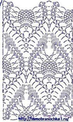 New crochet lace scarf flower yarns Ideas Crochet Shawl Diagram, Crochet Lace Scarf, Crochet Doily Rug, Crochet Motifs, Granny Square Crochet Pattern, Crochet Stitches Patterns, Crochet Chart, Thread Crochet, Knitting Patterns