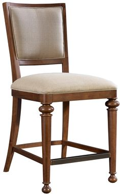 Cascade Upholstered Counter Height Stool by Broyhill Furniture