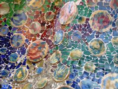 the beauty of Gaudi mosaic