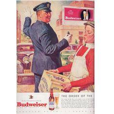 1934 Budweiser ad