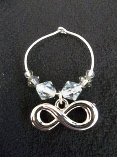 Infinity Wine Glass Charm by TheGrapeApe on Etsy, $3.99