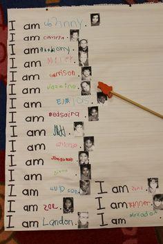 Mrs. Lee's Kindergarten: Stuff...Pictures and Ideas!