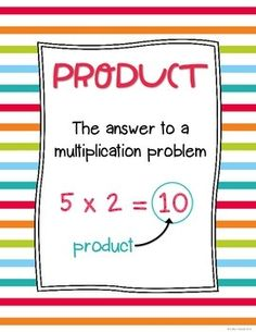 Multiplication Posters FREEBIE