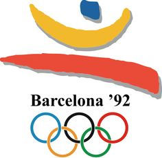 Logo of the 1992 Olympic Games - Barcelona, Spain