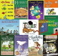 A handful of classic children's books