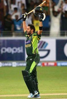 Legendary cricketer Shahid Afridi