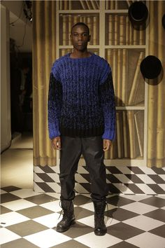 Rike Feurstein showed her Fall/Winter 2014 collection during Mercedes-Benz Fashion Week Berlin.