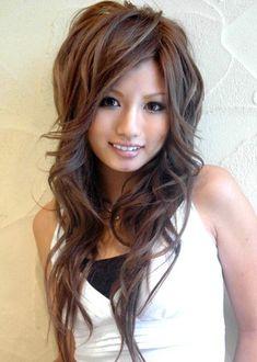 Cute long layered Haircut