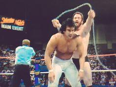 Hercules / Bobby Heenan vs Ricky Steamboat