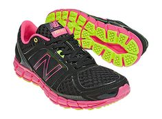 I might need these. For real.     New Balance 750, Black with Pink