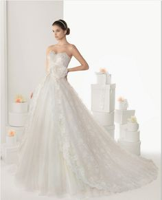 Nice Wedding dresses by Rosa Clara are timeless and elegant for the modern day bride The Rosa Clara bridal gown collection is luxuriously chic and utilizes the