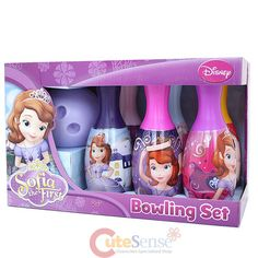 Sofia The First Kids Bowling Set Toy -Licensed on eBay!