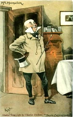 Copperfield, Micawber. To see our collection of postcards of Dickens characters, visit http://oldstratforduponavon.com/dickens.html