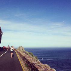 Chapman's Peak - Two Oceans Marathon Cape Town, Oceans, Marathon, Landscapes, Health Fitness, Bucket, African, Running, Mountains