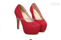 Wholesale good quality ladies wedding high shoes fashion women shoes three colors, Free shipping, $36.36/Pair | DHgate