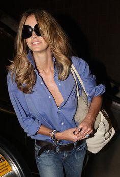Elle at Miami Airport