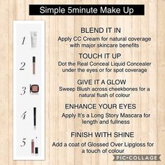 For all the #makeup junkies out there... you're welcome. #vegan #crueltyfree #glutenfree #5minuteface #cosmetics #beauty