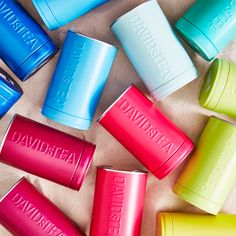 Colour code your tea stash!