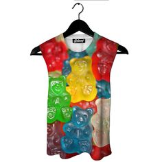 Gummy Bears Muscle Tank by Beloved Shirts