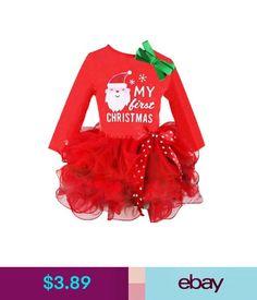 415803f4c6c1 11 Best Details about Baby Girls  Christmas Onesie Santa Costume ...