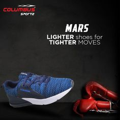 Pissed off with Heavy Shoes ?? Give relaxation to your feet. Feel light like never before with the pair of #mars sports shoe. #columbushoes #sportsshoes #marsseries #lightshoes