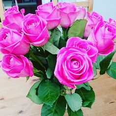 Pretty flowers making me smile! Pink roses
