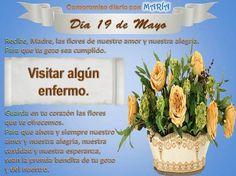 MES DE MARIA: 19 de Mayo - Homenaje a MARÍA