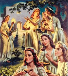 parable of the ten virgins matthew 25 1 13 - Google Search