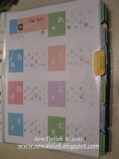 How To Tutorial - Printing and Organizing My Cricut Cartridge PDF Handbooks