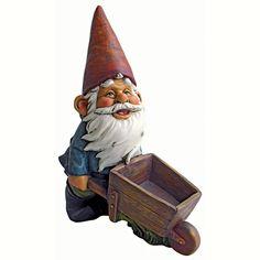 Wheelbarrow Willie Garden Gnome Statua: Amazon.it: Giardino E Giardinaggio