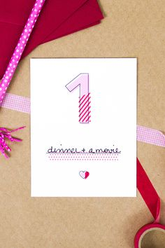 Loving these modern printable Valentine's Day love coupons! Perfect for a simple, homemade gift.