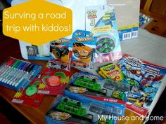 How to keep the kids busy on long road trips