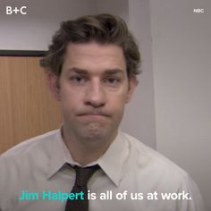 Every Time Jim Halpert Was Completely Over It In 'The Office,Funny, Funny Categories Fuunyy *Shrugs at camera* Source by britandco. Office Gifs, Office Jokes, Office Tv, Funny Office Memes, Funny Yearbook, Yearbook Pictures, Yearbook Quotes, Office Ideas, Best Of The Office