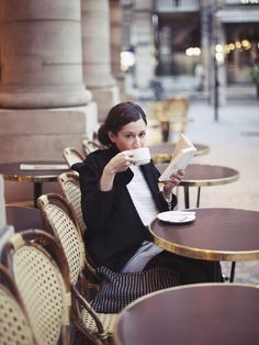 the firtst coffee in the morning © Arthur Delloye pour Grazia