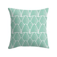 """Shards Aqua"" Cushion http://www.redbubble.com/people/angeflange/works/14722623-shards-aqua?p=throw-pillow"