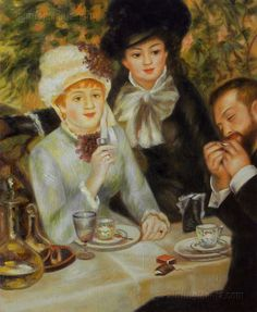 The End of Lunch by Pierre-Auguste Renoir 1879