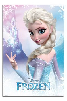 Frozen Elsa THE Snow Queen Large Maxi Wall Poster NEW Laminated Available | eBay