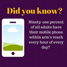 Most people are to their Take advantage and make sure your is Did You Know, Addiction, Website, Phone, Reading, Books, Instagram, Telephone, Libros