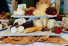 Artisian Cheese Table for Cape Cod Wedding Reception