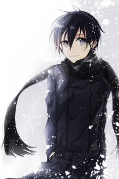 One time if i meet Kirito the first thing what i will say to him is: Kirito, give me your hair now!!