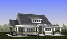 Exclusive 3 Bed Home Plan with Wraparound Porch - 18284BE | 1st Floor Master Suite, CAD Available, Country, Craftsman, Den-Office-Library-Study, Exclusive, MBR Sitting Area, PDF, Traditional, Wrap Around Porch | Architectural Designs