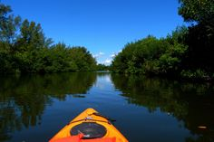 Kayak through an Island-Dotted Lagoon in Florida Cocoa Beach Kayaking takes guests on guided tours of the Indian River Lagoon