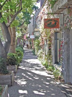 This is where Doris Day and Clint Eastwood live  Carmel, California Quiant little town