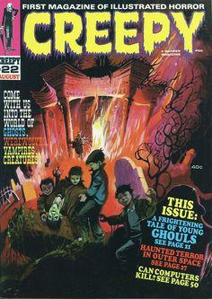 Creepy No. 22 (1968) cover by Tom Sutton