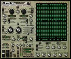 Drzewo Cedr free VST synth with a 16 step pitch sequencer.  http://www.vstplanet.com/News/14/Saltline-releases-Drzewo-Cedr-free-VST-synth.htm