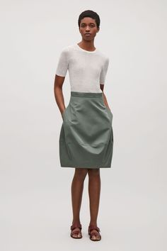 COS | Concave technical skirt