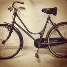 My vintage city bike!