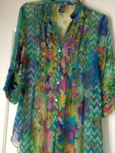 Fancy blouse from North Conway, NH